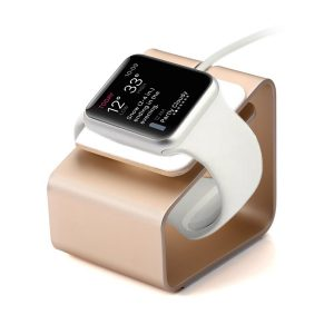Apple watch laddstation aluminum / Rose/Gold
