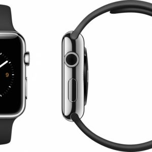 Apple Watch Silikonband  SVART