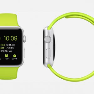 Apple Watch Silikonband GRÖN