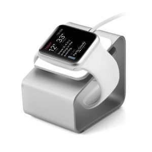 Apple watch laddstation aluminum / Silver