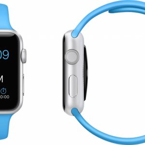 Apple Watch Silikonband Blå
