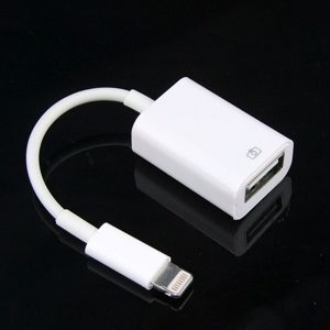 Apple Lightning till USB Kamera Adapter