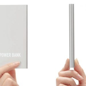 Xiaomi PowerBank 9.9mm tunn powerbank 5000mAh
